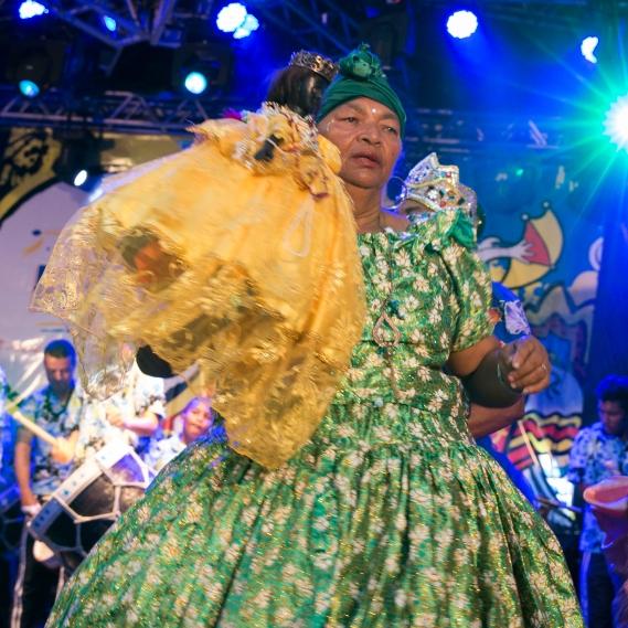 Maracatu Estrela Brilhante de Igarassu - Igarassu/PE (Dama do Paço - Mana)